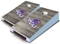 Western Carolina Catamounts Distressed Tabletop Set