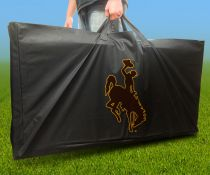 Wyoming Cowboys Cornhole Carrying Case