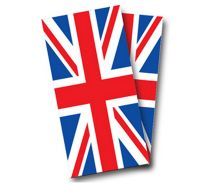 """British Flag"" Cornhole Wrap"
