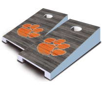 Clemson Tigers Distressed Tabletop Set