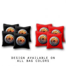 """Fire Department"" Cornhole Bags - Set of 8"