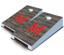 Maryland Terrapins Distressed Tabletop Set