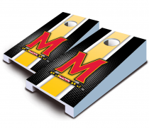 Maryland Terrapins Striped Tabletop Set