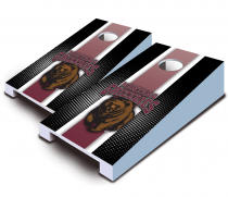 Montana Grizzlies Striped Tabletop Set