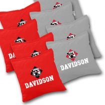 Davidson Wildcats Cornhole Bags - Set of 8