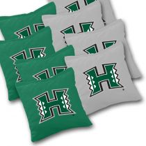 Hawaii Warriors Cornhole Bags - Set of 8