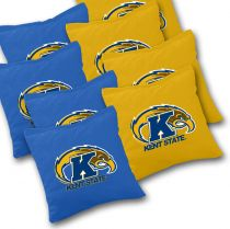 Kent State Golden Flashes Cornhole Bags - Set of 8