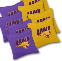 Northern Iowa Panthers Cornhole Bags - Set of 8