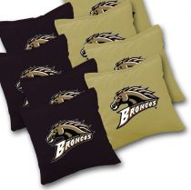 Western Michigan Broncos Cornhole Bags - Set of 8