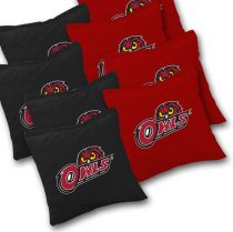 Temple Owls Cornhole Bags - Set of 8