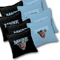 Maine Black Bears Cornhole Bags - Set of 8