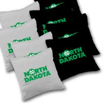 North Dakota Fighting Hawks Cornhole Bags - Set of 8