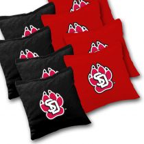 South Dakota Coyotes Cornhole Bags - Set of 8