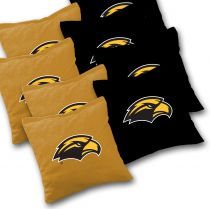 Southern Miss Golden Eagles Eagles Cornhole Bags - Set of 8