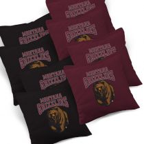 Montana Grizzlies Cornhole Bags - Set of 8