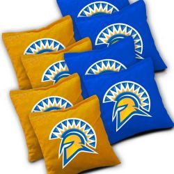 San Jose State Spartans Cornhole Bags - Set of 8