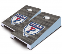 Penn Quakers Distressed Tabletop Set