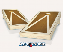 """Stained Pyramid"" Cornhole Set with Bags"