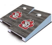 South Dakota Coyotes Distressed Tabletop Set