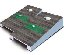 North Dakota Fighting Hawks Distressed Tabletop Set