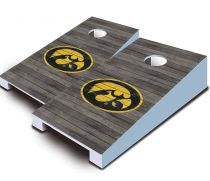 Iowa Hawkeyes Distressed Tabletop Set