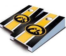 Iowa Hawkeyes Striped Tabletop Set