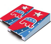 """Republican"" Tabletop Cornhole Set"