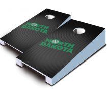 North Dakota Fighting Hawks Slanted Tabletop Set