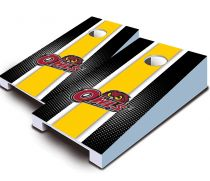 Temple Owls Striped Tabletop Set