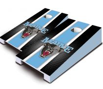 Maine Black Bears Striped Tabletop Set