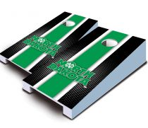 North Dakota Fighting Hawks Striped Tabletop Set