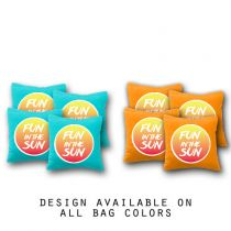 """Fun in the Sun"" Cornhole Bags - Set of 8"