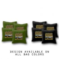 """US Army with Bullets"" Cornhole Bags - Set of 8"