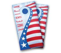 """USA Shooting Star"" Cornhole Wrap"