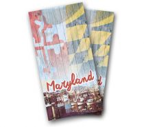 """Vintage Maryland"" Cornhole Wrap"