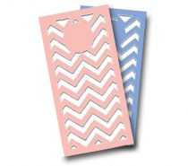 """Wedding Chevron"" Cornhole Wrap"
