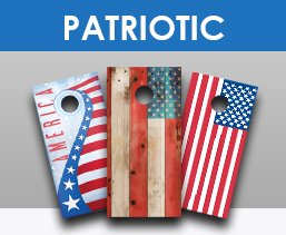 Patriotic Cornhole Sets